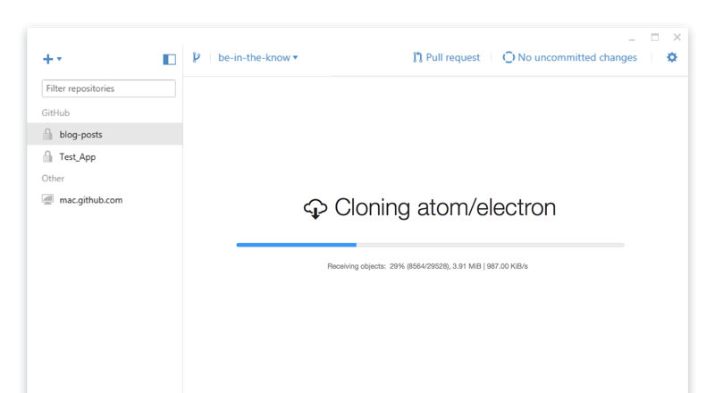 Cloning a repository